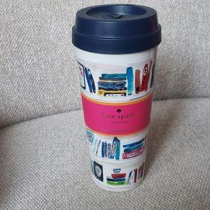 """NWT Kate Spade """"like a book"""" mug"""